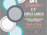 Avery Sticker Templates Circle Circle Label Sticker Avery Template 2 5 Inch Round Chevron