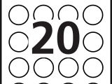 Avery Sticker Templates Circle Free Specialty Labels Templates Avery