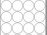 Avery Sticker Templates Circle Round Labels Circle Labels Ol325 167 Circle 17 Images Of