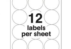 Avery Sticker Templates Circle Template Avery 5294