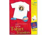 Avery T Shirt Template Avery 3275 Personal Creations Inkjet T Shirt