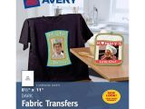 Avery T Shirt Template Avery Iron On Transfer Paper
