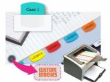 Avery Template 16281 Redi Tag Laser Printable Index Tabs Permanent Adhesive 1
