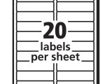 Avery Template 5160 Labels Labels by the Sheet Templates and Avery Address Labels