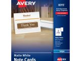 Avery Template 8315 Avery Greeting Cards with Envelopes White 60 Count 8315