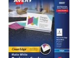 Avery Template 8869 Avery Clean Edge Custom 2 Sided Business Cards Ave8869