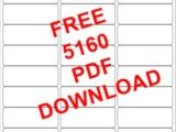 Avery Template Labels 5160 10 Best Images Of Print Avery 5160 Labels Avery Label