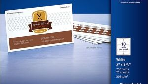 Avery Templates 5371 Business Cards Avery Business Cards for Laser Printers 5371 Avery