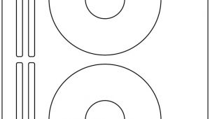 Avery Templates 8931 40 Cd Dvd Laser and Ink Jet Labels Compatible with