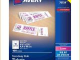 Avery Templates for event Tickets Avery Ticket Template Authorization Letter Pdf