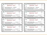 Avery Templates for event Tickets Template for Tickets Tickets with Tear Away Stubs Stub On