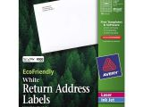 Avery Templates Return Address Labels Ecofriendly Return Address Label Avery Dennison 48467