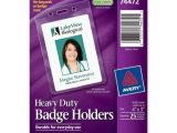 Avery Vertical Name Badge Template Avery Vertical Style Heavy Duty Badge Holder Ave74472