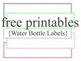 Avery Water Bottle Label Template 10 Best Images Of Water Bottle Label Template Baby Water