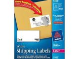 Avery White Shipping Labels 5163 Template Avery 5163 2 X 4 Quot White Shipping Labels nordisco Com