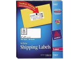 Avery White Shipping Labels 5163 Template Avery 5163 Shipping Labels with Trueblock Technology 2 X