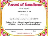 Award Email Template Free Award Certificate Templates Sample Complaint Email