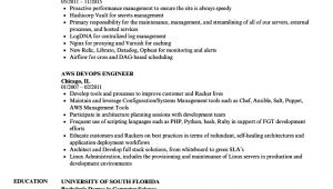 Aws Fresher Resume format Aws Devops Resume Samples Velvet Jobs