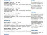 Azure Basic Resume Simple Resume Templates Fairygodboss