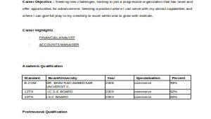 B Com Fresher Resume format Pdf 13 Simple Fresher Resume Templates Pdf Doc Free