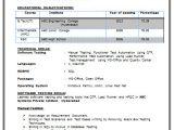 B Com Fresher Resume format Pdf B Tech Resume Fresher No Experience Free Download 1