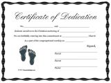 Baby Dedication Certificate Template Baby Dedication Certificate Template 21 Free Word Pdf