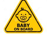 Baby On Board Template Baby On Board Sign Stock Vector Image Of Comfort