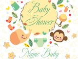 Baby Shower Flyer Template 9 Baby Shower Flyers Psd Word Ai Eps Vector formats