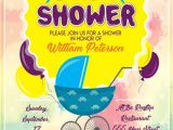 Baby Shower Flyer Template Baby Shower Party Flyer Template Download Free Flyer