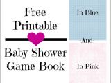 Baby Shower Game Booklet Template the Thriftiness Miss Free Printable 7 Baby Shower Games