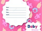 Baby Shower Place Cards Template Template Baby Shower Card Template Invitation Cards for