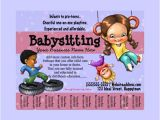 Babysitter Flyers Template 14 Babysitting Flyers Pdf Word Psd Ai Eps Vector