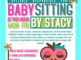 Babysitter Flyers Template 20 Beautiful Babysitting Flyer Templates Creatives