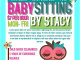 Babysitter Flyers Template Postermywall Babysitting Flyers
