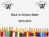Back to School Night Powerpoint Templates Back to School Night Powerpoint Templates