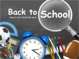 Back to School Night Powerpoint Templates Back to School toolkit A Powerpoint Template From