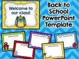 Back to School Night Powerpoint Templates Meet the Teacher Template Editable Parent Night Open