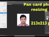 Background Check Using Pan Card How to Set Image for Pan Card In Photoshop Low Size