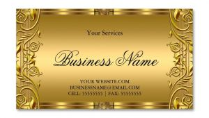 Background Images Of Visiting Card Elegant ornate Royal Golden Gold Business Card Zazzle Com