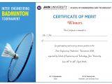 Badminton Certificate Template Shoelace Designs June 2011