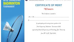 Badminton Certificate Template Shoelace Designs June 2011