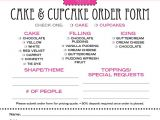 Bakery Contract Template 78 Images About Cake order forms On Pinterest Book