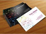 Band Business Card Template 20 Fantastic Business Cards for Musicians Naldz Graphics
