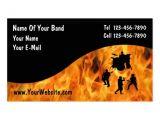 Band Business Card Template Premium Music Business Card Templates Bizcardstudio Co Uk