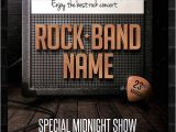 Band Flyers Templates Free 25 Band Flyer Templates Ms Word Publisher Apple Pages