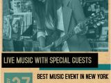 Band Flyers Templates Free Indie Band Concert Flyer Template Postermywall