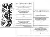 Baptism Sponsor Certificate Template Certificate Download Sponsor Baptismal English