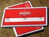 Barber Shop Business Card Templates Barber Shop Premium Business Card Psd Ai Template