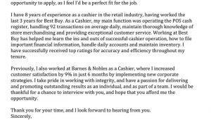 Barnes and Noble Cover Letter Sample Cover Letter for Barnes and Noble Perfect Resume
