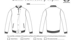 Baseball Jacket Template Baseball Jacket Template Jacketin